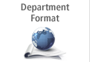 Department Format